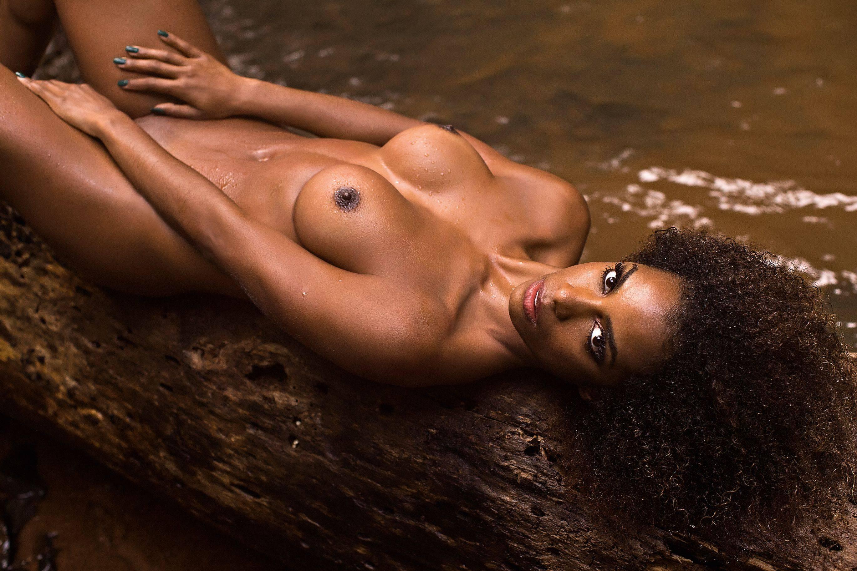 Плейбой фото негритянки #4