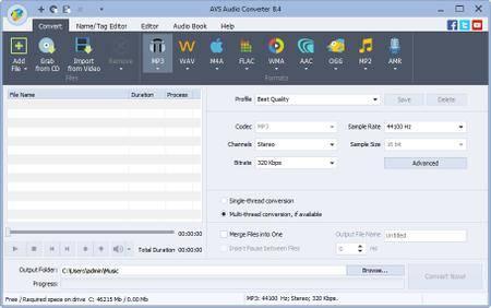 AVS Audio Converter 8.4.2.579
