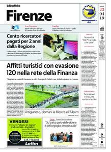la Repubblica Firenze – 23 aprile 2019
