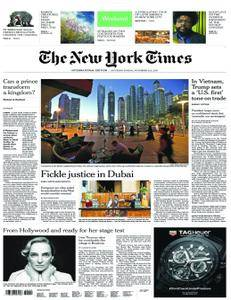 International New York Times - 11 November 2017