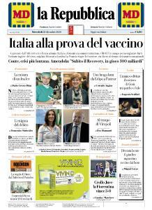 la Repubblica - 23 Dicembre 2020