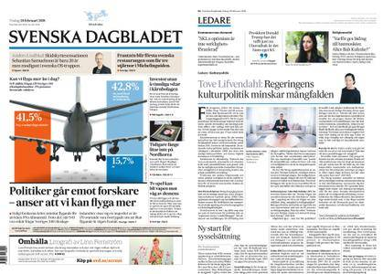 Svenska Dagbladet – 20 februari 2018