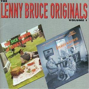 Lenny Bruce - The Lenny Bruce Originals Volume 1 (1991) {Fantasy} **[RE-UP]**