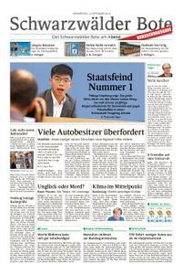 Schwarzwälder Bote Blumberg - 12. September 2019