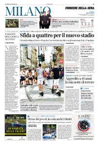 Corriere della Sera Milano – 29 luglio 2019