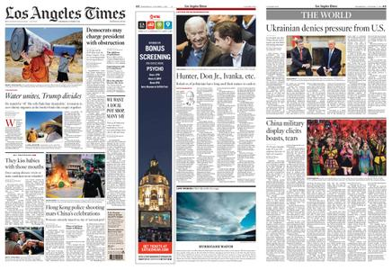 Los Angeles Times – October 02, 2019