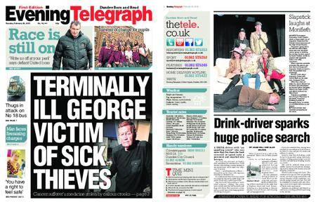 Evening Telegraph First Edition – February 20, 2018