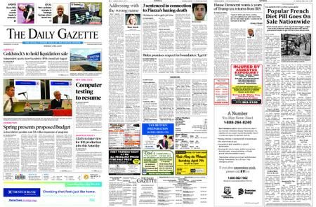 The Daily Gazette – April 04, 2019