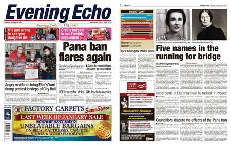 Evening Echo – January 29, 2019