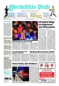 Oberhessische Presse Marburg/Ostkreis - 17. Dezember 2018