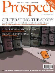 Prospect Magazine - September 2005