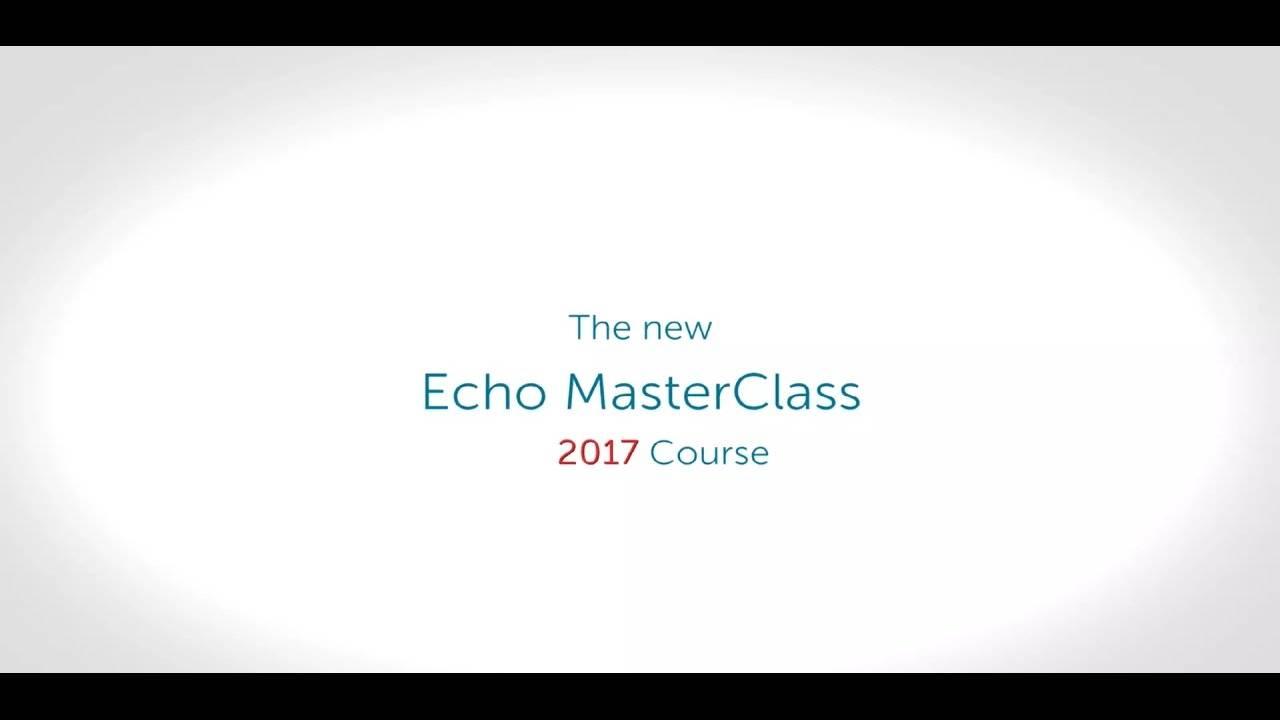 Echocardiology Masterclass 2017