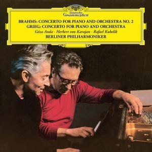 Géza Anda - Brahms: Piano Concerto No. 2 in B Flat, Op. 83 / Grieg: Piano Concerto in A Minor, Op. 16 (1968/2018) [24/96]