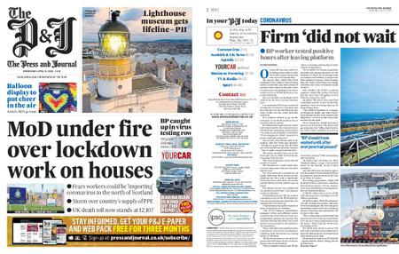 The Press and Journal Moray – April 15, 2020