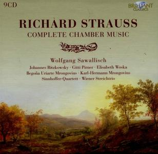 Wolfgang Sawallisch - Richard Strauss: Complete Chamber Music (2011) (9 CDs Box Set)