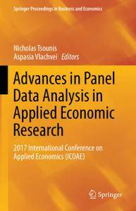 Advances in Panel Data Analysis in Applied Economic Research: 2017 International Conference on Applied Economics (ICOAE)