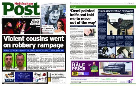 Nottingham Post – October 12, 2018