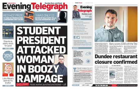 Evening Telegraph First Edition – November 13, 2019