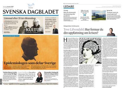 Svenska Dagbladet – 22 mars 2020