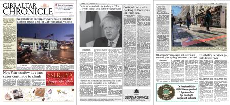 Gibraltar Chronicle – 30 December 2020
