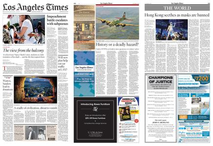 Los Angeles Times – October 05, 2019