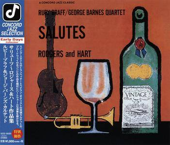 Ruby Braff & George Barnes Quartet - Salutes Rodgers and Hart (1974) Japanese Reissue 2014 [Re-Up]