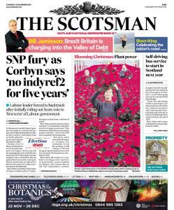 The Scotsman - 14 November 2019