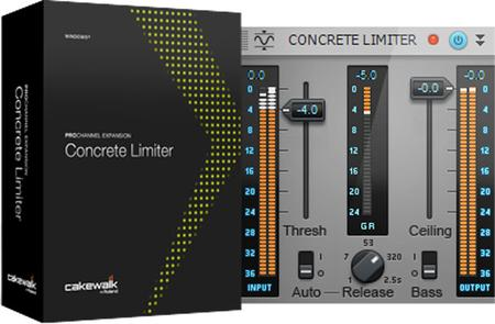 Cakewalk ProChannel Concrete Limiter v1.0.2 WiN