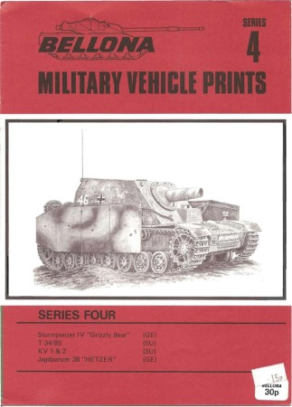 Bellona Military Vehicle Prints: series 4