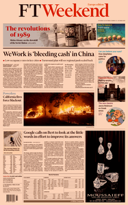 Financial Times Europe – 26 October 2019