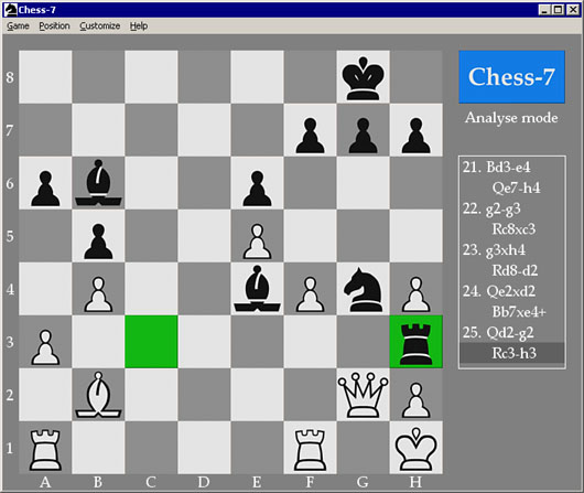 Chess-7 version 3.4