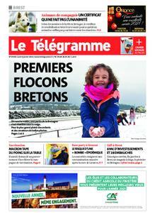 Le Télégramme Brest Abers Iroise – 04 janvier 2021