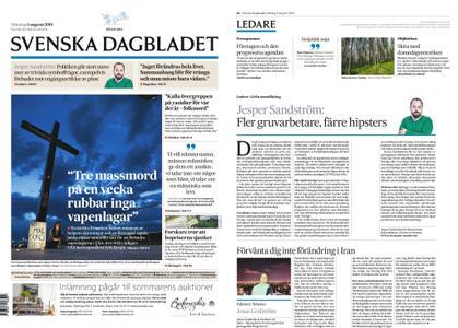 Svenska Dagbladet – 05 augusti 2019