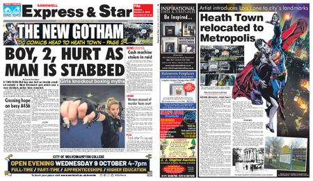 Express and Star Sandwell Edition – October 08, 2019