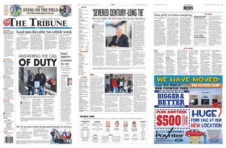 The Tribune Jackson County, Indiana – November 16, 2019
