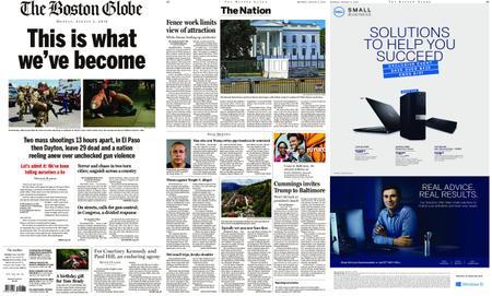 The Boston Globe – August 05, 2019