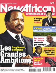 New African, le magazine de l'Afrique - Septembre - Octobre 2008