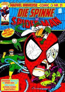 Marvel Universe Comics 21 - Die Spinne ist Spiderman