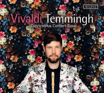 Stefan Temmingh, Capricornus Consort Basel - Antonio Vivaldi: The Concertos for Recorder; J.S. Bach: Preludes (2017)