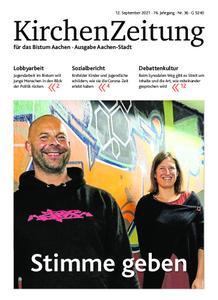 KirchenZeitung für das Bistum Aachen – 12. September 2021