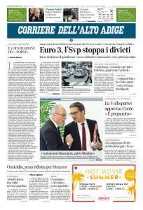 Corriere dell'Alto Adige - 25 Maggio 2018
