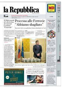 la Repubblica - 28 Febbraio 2018