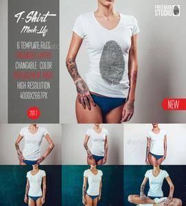GraphicRiver - T-Shirt Mock-Up Vol.2 2017
