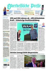 Oberhessische Presse Hinterland - 25. September 2017