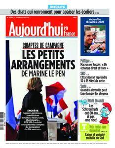 Aujourd'hui en France – 25 mai 2018