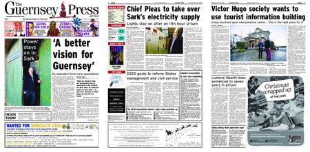 The Guernsey Press – 01 December 2018