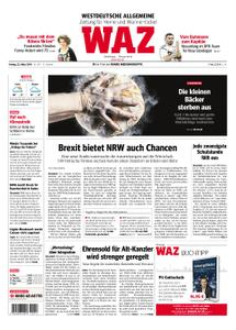 WAZ Westdeutsche Allgemeine Zeitung Herne - 22. März 2019