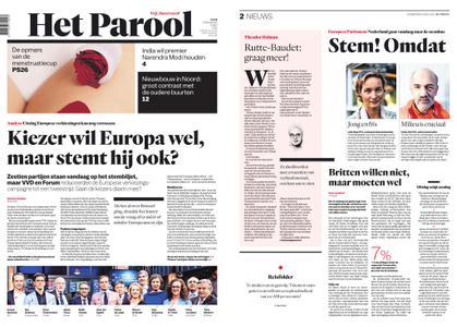 Het Parool – 23 mei 2019