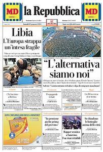 la Repubblica - 20 Gennaio 2020
