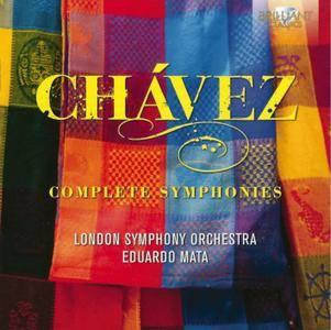 London Symphony Orchestra, Eduardo Mata - Carlos Chavez: Complete Symphonies (2014) 2CDs
